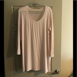 Victoria's Secret Soft Pale Pink nightie NWOT 37""